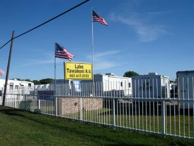 Lake Tawakoni RV Center located near Dallas, Texas